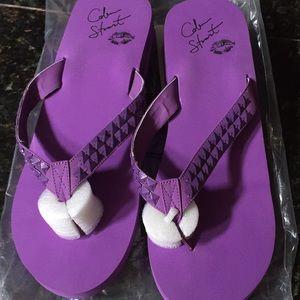 Victoria's Secret Shoes - Victoria's Secret Colin Stewart thong shoes